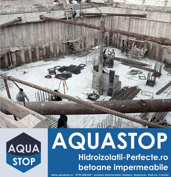 Hidroizolarea permanenta a betonului cu Radmyx